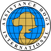 Assistance Dogs International logo.
